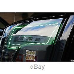 09-16 Dodge Ram Sport Multi-Color Changing LED RGB Headlight Halo Ring M7 Set