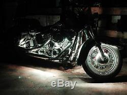 12pc 18 Color Change Led Street Glide Motorcycle Led Neon Strip Lighting Kit