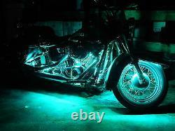 16pc 18 Color Changing Led American Ironhorse Motorcycle Led Strip Lighting Kit