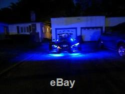 18 Color Change Led Can-Am Ryker 900 20pc Motorcycle Led Neon Strip Light Kit