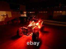 18 Color Change Led Yamaha Raptor 700 ATV UTV Quad 4 Wheeler 12pc Led Light Kit