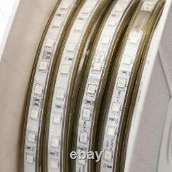 1m 50m Mains Rgb Led Strip Lights Colour Changing 5050 Waterproof 240v Ip65 Cct