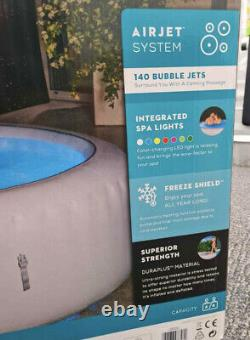 2021 Lay Z Spa PARIS 4-6 Person Hot Tub Freeze Shield LED LIGHTS