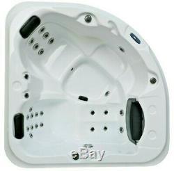 3 Person Hot Tub Luxury Spa Cove Bay Premium Controls Led Light