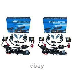 4X6 BLUETOOTH Color Change SMD LED Halo Angel Eye Headlight HID Light Bulbs Set