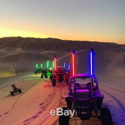 5150 Whips'187 Crazy Whip' High Powered LED Color Changing Whip Bluetooth Flag