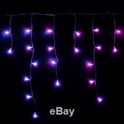 5m Twinkly Gen II Smart App Controlled Christmas Icicle LED Lights