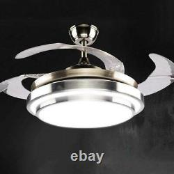 65W 42inch LED Ceiling Fan with 3-Color Changing Lights & Remote Control