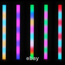 8 x Equinox Pulse Tube LED Rainbow Colour Changing DJ Disco Party Light Effect