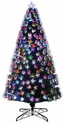 96(8FT)Green LED Firework Fibre Optic Christmas Tree/Colour Changing LED(FO96B)