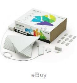 9pc Nanoleaf Light Panels App Controlled Smarter Kit Wall Lights Rhythm Edition