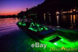 BOAT DRAIN PLUG LED LIGHT- HYDRO AURORA 2.0 120 watts 13,000 LUMEN RGB or SOLID