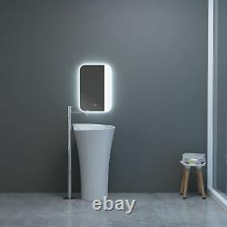 Bathroom Smart Mirror Colour Changing LED Defogger 3000k 4000k 6000k 600 x 400mm