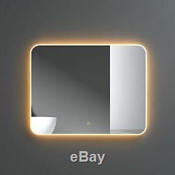 Bathroom Smart Mirror Colour Changing LED Defogger 3000k 4000k 6000k 700 x 900mm