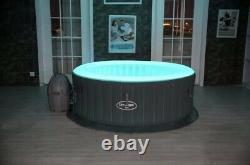 Brand New Lay Z Spa Bali AirJet 2021 LED 2-4 Person Hot Tub Free Shipping