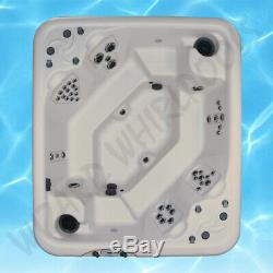 Brand New Luxury Wizard Rendezvous LS Hot Tub/Spa with Full LED Lighting