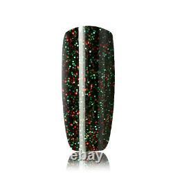 CRYSTAL-G New Fine Glitters E-Range E33-ARABIAN NIGHTS UV/LED Gel Nail polish