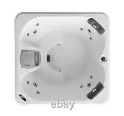 Canadian Spa Saskatoon 12 Jet 4 Person Plug & Play Acrylic Spa LEDs, & Ozone