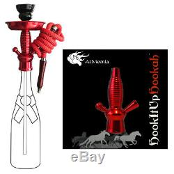 Ciroc Vodka Redberry 1L Bottle Hookah With 16 Color Changing Led Stand With Remote