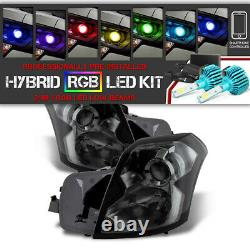 Color Changing LED Low Beam SO COOL 2003-2007 Cadillac Base Sport Headlight