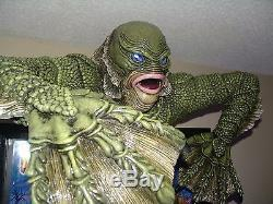 Creature From the Black Lagoon Pinball Topper CHANGE LED EYE COLOR WITH REMOTE