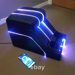 Cubby Box Black / Colour change LED Piping Defender 90 110