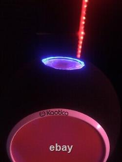 Custom Kaotica Eye Ball Mic Shield / Built In Color Changing Led Light (RED)