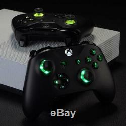 Custom Xbox One Controller LED color changing buttons LIFETIME WARRANTY