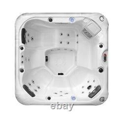 DEMO CAMBRIDGE 5-Person Hot Tub Spa 34 Jet Aromatherapy LEDs Bluetooth Waterfall