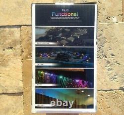 Enbrighten Landscapes Path Lights 36 Mini Lights 70ft LED Color Changing