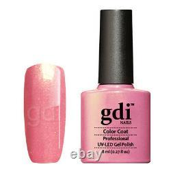 Gdi Fine Glitter Range R10 Sweet Lavender UV/LED Gel Nail Polish