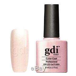 Gdi Fine Glitter/Shimmer Range R06 Baby Princess UV/LED Gel Nail Polish