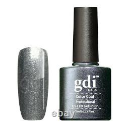 Gdi Fine Glitter/Shimmer Range R19 Eternal Storm UV/LED Gel Nail Polish