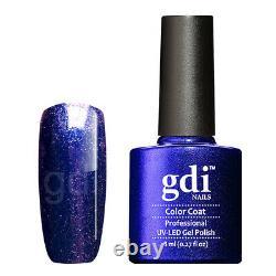 Gdi Fine Glitter/Shimmer Range R24 Ocean's Secrets UV/LED Gel Nail Polish
