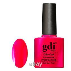 Gdi NAILS Neon Range N07-HOT DIVA UV/LED Soak Off Gel Nail Polish. UK Brand