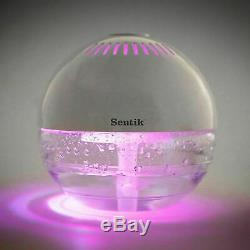 Globe Fresh Air Revitalizer Purifier Ioniser Humidifier With Colour Changing Led