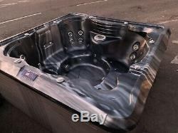 Hot tub Powerful Jets Colour LED Lighting Be In this Hot Tub Christmas Day
