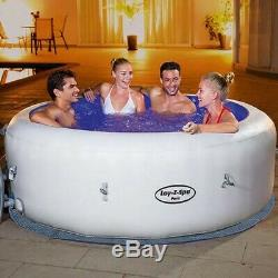 IN STOCK Lay-Z-Spa Paris 4-6 person Hot Tub, LED Lights, Cover Included