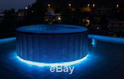 Inflatable Hot Tub With Led Lights