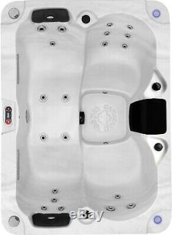 KELOWNA 20 Jet 3-4 Person Plug & Play Acrylic Spa LEDs, 2 Waterfall, & Ozone