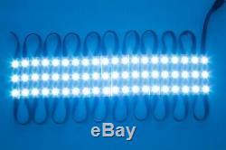 LEDUPDATES STOREFRONT LED LIGHT COLOR CHANGE RGB include TRACK & UL POWER SUPPLY