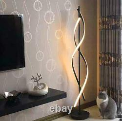 LED Floor Lamp Dimmable Remote Control Modern Tall Lighting Living Room Bedroom