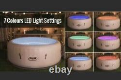 LED'sLay Z Spa Paris Lazy 6 Person Hot Tub Jacuzzi 5 NEXT DAY
