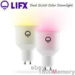 LIFX 2 Pack GU10 Smart Colour Downlight LED Down Light 16 Million Colors