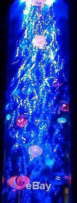 Large 105cm Bubble Tube LED Colour Changing Sensory Floor Light-Superior Quality