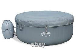 Lay-Z-Spa BALI 4 Person Inflatable Hot Tub 2021 Model with LED Lights