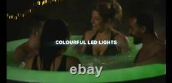 Lay-Z-Spa BaliLED LIGHTSHot Tub Jacuzzi- BRAND NEW- FAST FREE DELIVERY