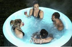 Lay-Z-Spa Bali 2-4 Person LED Inflatable Hot Tub Fast & Free Shipping