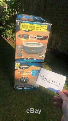 Lay Z Spa Bali 2-4 Person with LED Hot Tub Brand New In Box. DISPATCH READY