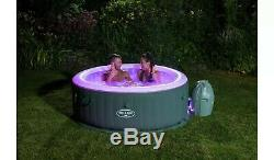 Lay Z Spa Bali AirJet Hot Tub with remote LED lights